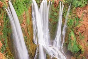 ouzoud vattenfall, grand atlas i marocko foto
