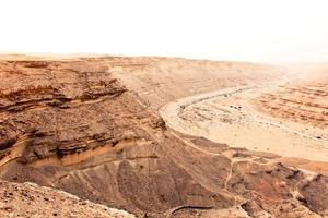 öknen elrayan dalen sahara foto