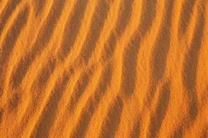 öken sand bakgrund. foto