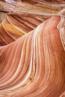 vågen, fantastisk klippformation i Arizona, USA foto