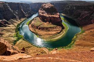 hästskor sko panoramautsikt foto