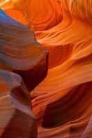 abstakta former av antilopkanjonen, arizona, usa foto