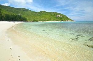 fantastisk tropisk vik foto