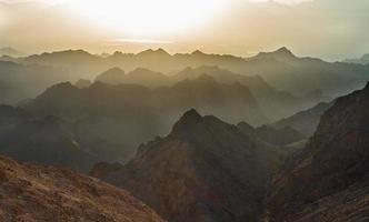 soluppgång över Röda havet