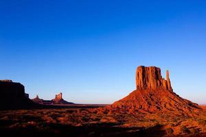 monument Valley West Mitten Butte Utah Park foto