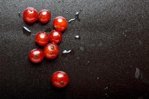 färska skogsfrukter foto