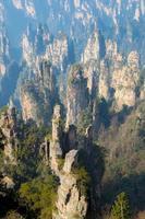 Zhangjiajie National Forest Park Kina foto