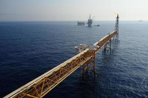 offshore flare foto