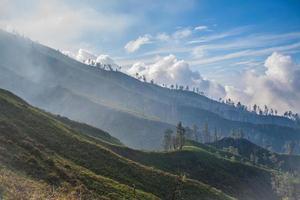 kawah ijen vulkan, java, indonesien