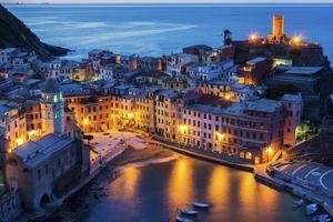 vernazza i Italien foto