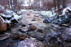 grizzly creek i colorado foto