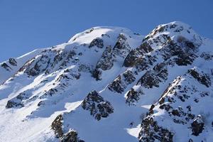 berg av krasnaya polyana, sochi, Ryssland foto