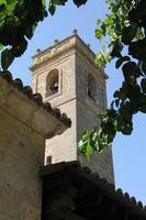 kyrkklocka brihuega guadalajara, Spanien foto