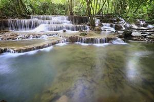 huay mae khamin vattenfall foto