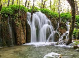 vattenfall i plitvicesjöarna
