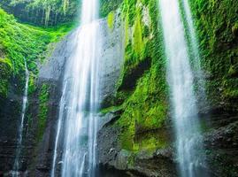 madakaripura vattenfall i indonesien foto