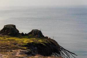 havskust höst vårstormar foto