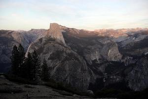 halv kupol, Yosemite National Park foto