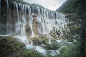 jiuzhaigou dalen nationalpark, porslin. foto