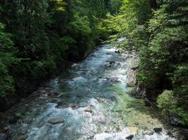 cool Atera Valley of Shinshu of Japan