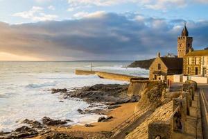 Porthleven Cornwall England Storbritannien