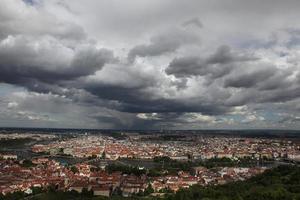 historiska centrum av Prag foto