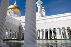 sultan omar ali saifuddin moské - brunei foto