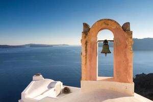 kyrka över Medelhavet foto