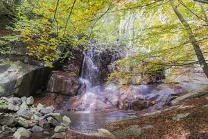 vattenfall i montseny foto