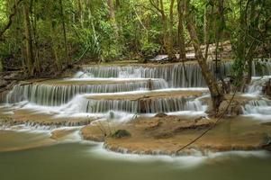 Thailand vattenfall foto