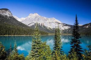 smaragdsjö, yoho nationalpark, brittiska columbia, Kanada