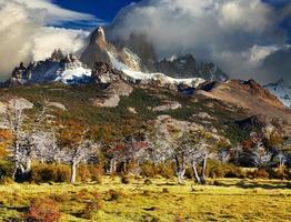 mount fitz roy, argentina foto