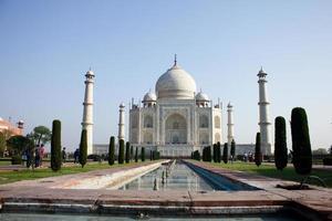 taj mahal i Indien foto