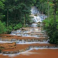 Pajaroen vattenfall nationalpark foto