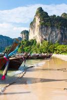 railay strand i Krabi Thailand
