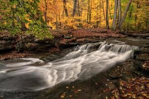 vattenfall på hösten