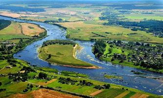 flygfotografering - floden foto