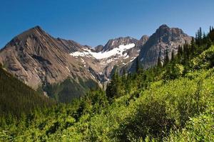 natursköna bergsutsikt kananaskis country alberta canada