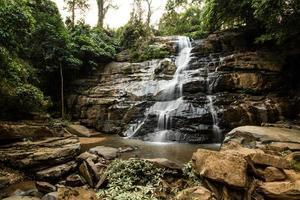 Tad mok vattenfall Chiangmai Thailand foto