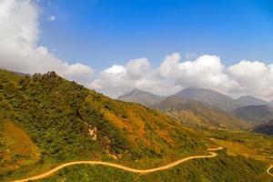 bergsvägar foto