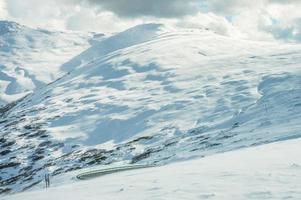 snö berg foto