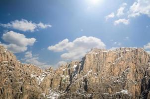 höga berg. foto