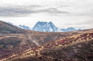 berg höstlandskap
