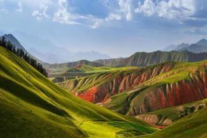 berg i Kina foto