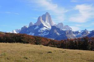 fitz roy mountain. foto