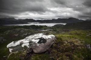 applecross bergspassage foto