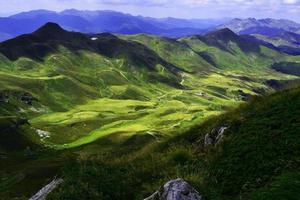 berg i Italien foto