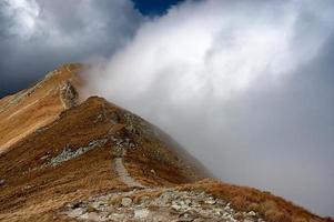 bergen i Slovakien