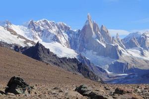 cerro torre berg. foto