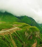 gröna berg foto